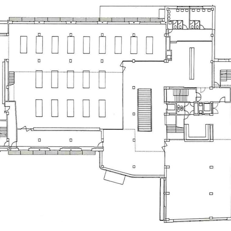 La relación y proporción de los espacios en planta...cada cosa en su sitio...la manera de relacionarse y de escalarse; Esa arquitectura que se organiza por fuera como por dentro, con mayor ambición por el equilibrio, que por la sorpresa