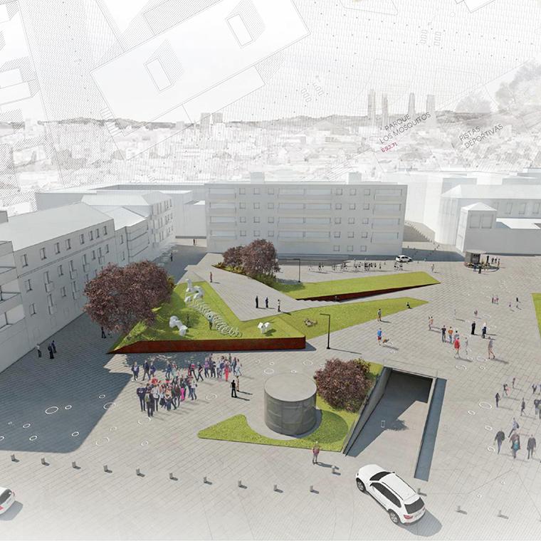Propuesta para la regeneración de los espacios de la Plaza de los Misterios y sus proximidades