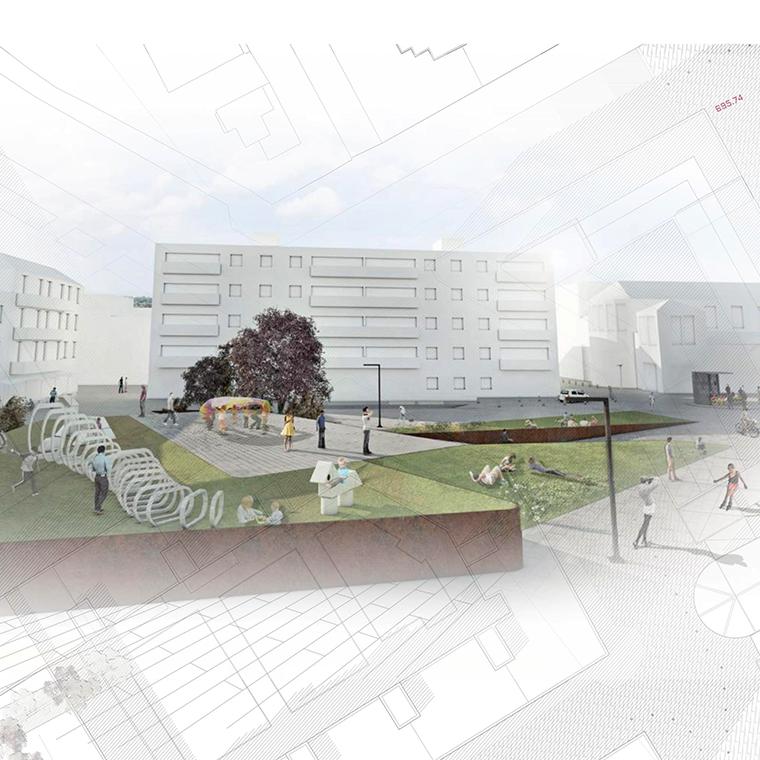 Una nueva Plaza para el esparcimiento de pequeños y mayores, con espacios abiertos y desahogados